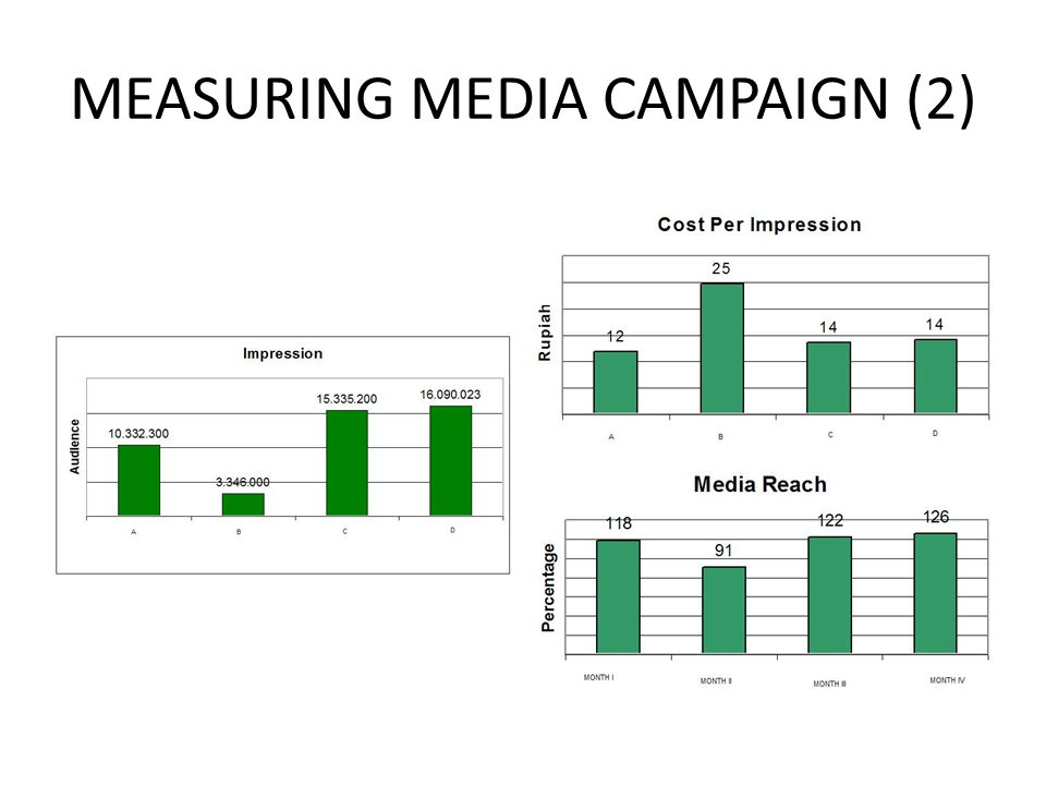 MEASURING MEDIA CAMPAIGN (2)