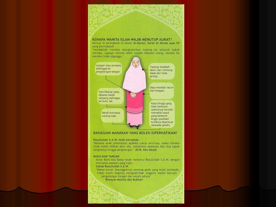 Jilbab yang sesuai tuntunan