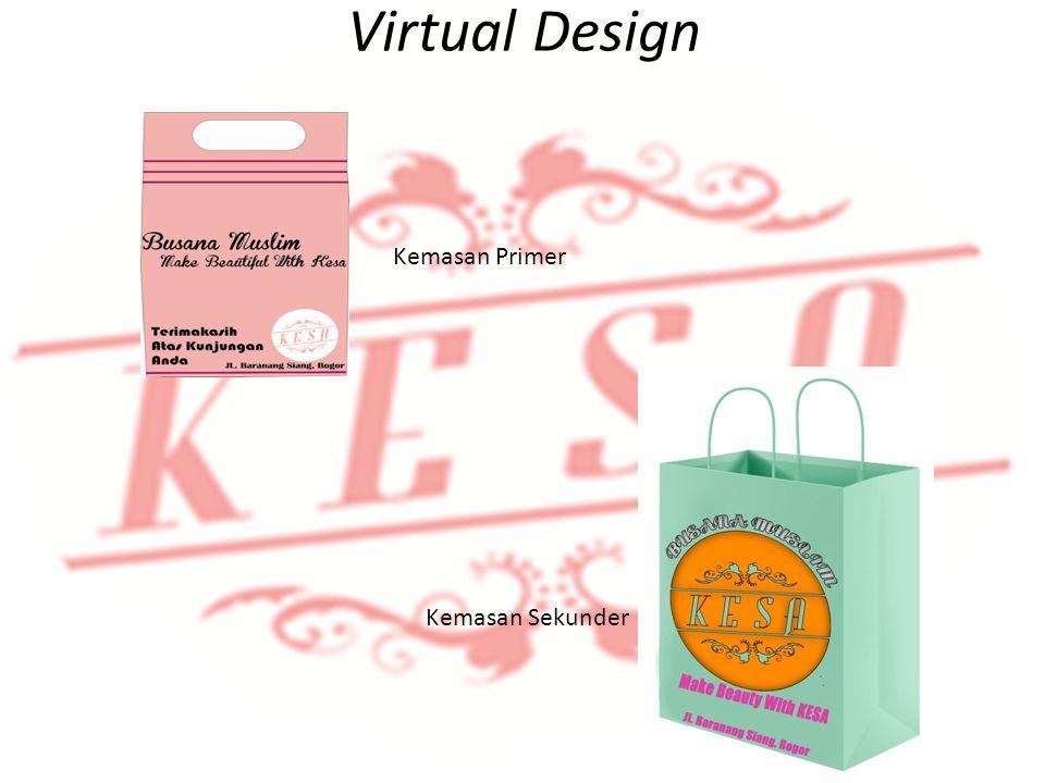 Identifikasi Produk Virtual Design Kemasan Primer Kemasan Sekunder
