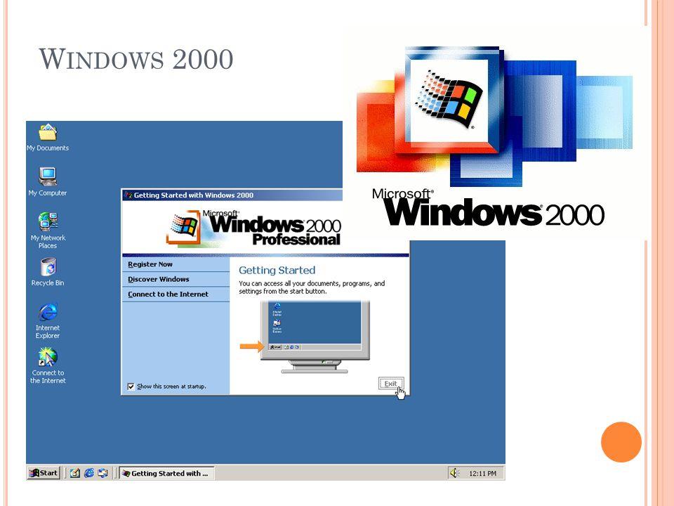 W INDOWS 2000