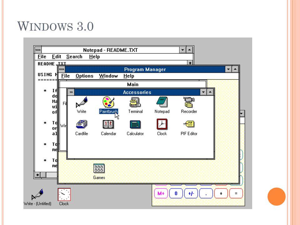 W INDOWS 3.0