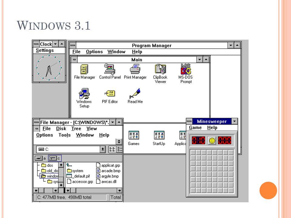 W INDOWS 3.1