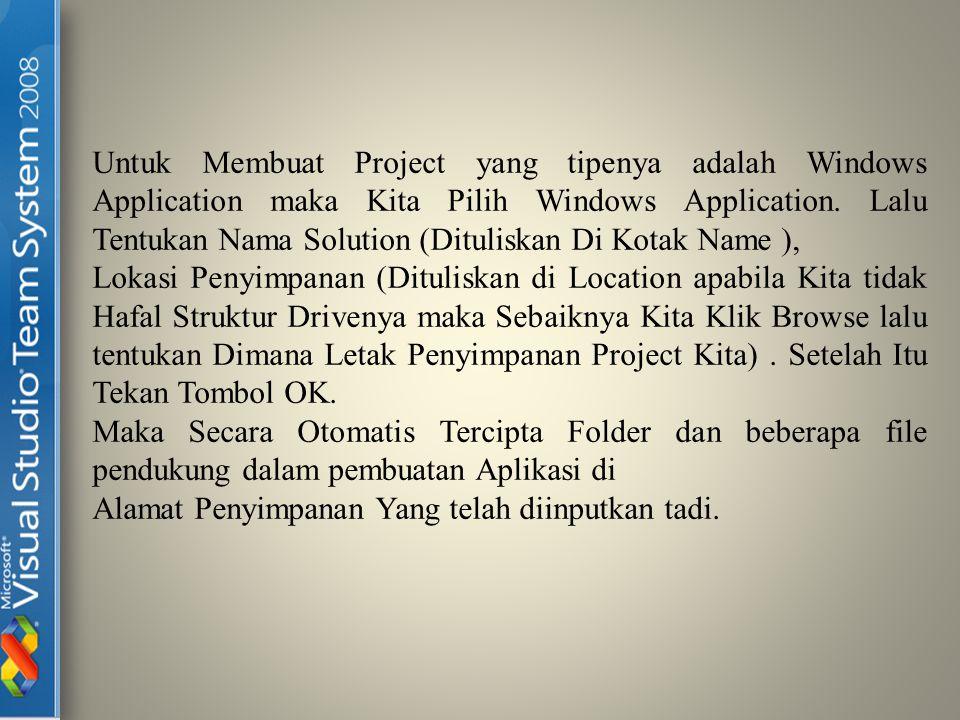 Folder Tempat Penyimpanan Solution