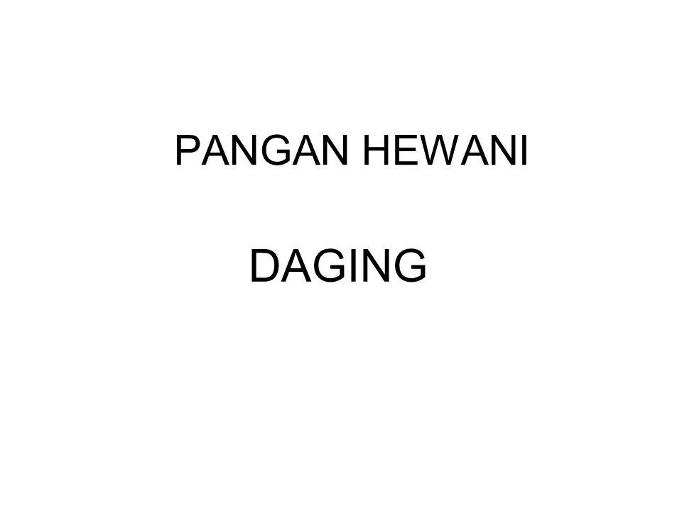 PANGAN HEWANI DAGING