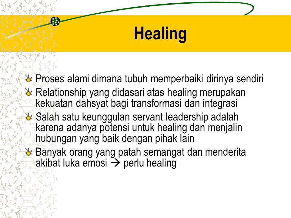 Healing Proses alami dimana tubuh memperbaiki dirinya sendiri Relationship yang didasari atas healing merupakan kekuatan dahsyat bagi transformasi dan