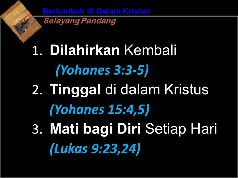 b Understand the purposes of marriageA Bertumbuh di Dalam Kristus Selayang Pandang Bertumbuh di Dalam Kristus Selayang Pandang 1.