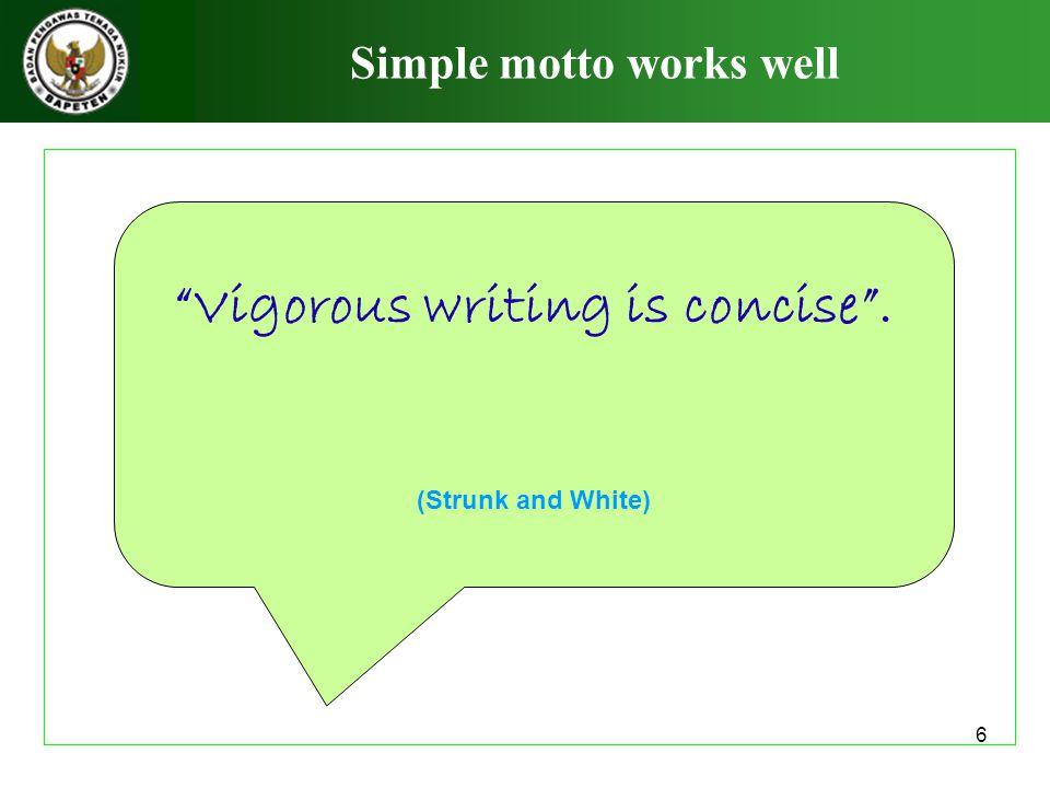 7 Sebelum mulai menulis … Tulis ide anda dengan format bebas.