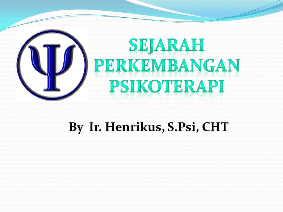 By Ir. Henrikus, S.Psi, CHT