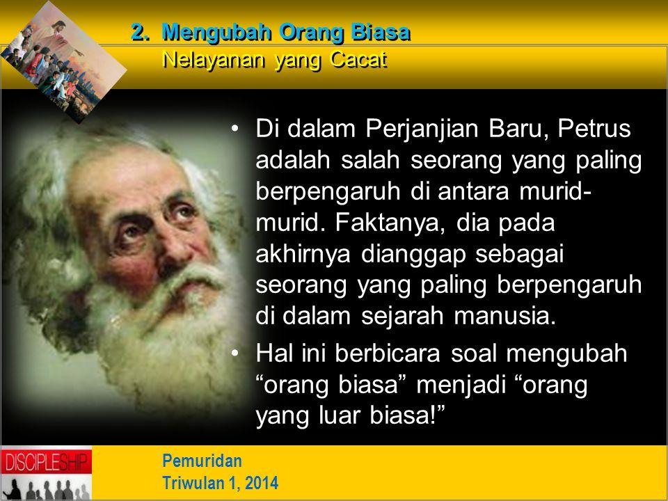 Di dalam Perjanjian Baru, Petrus adalah salah seorang yang paling berpengaruh di antara murid- murid. Faktanya, dia pada akhirnya dianggap sebagai seo