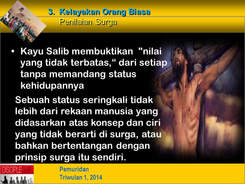 Kayu Salib membuktikan