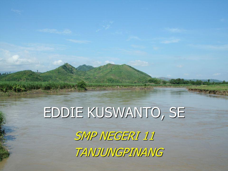 EDDIE KUSWANTO, SE SMP NEGERI 11 TANJUNGPINANG