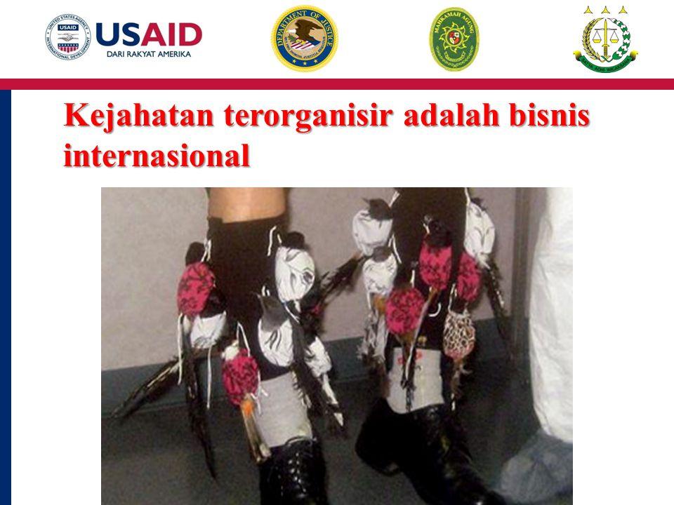 Kejahatan terorganisir adalah bisnis internasional