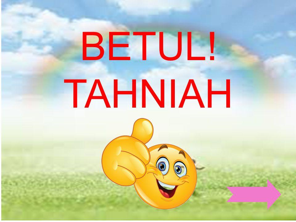 BETUL! TAHNIAH