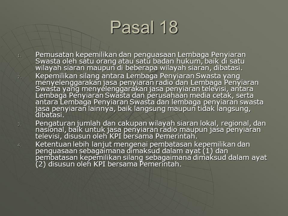 Pasal 18 1.