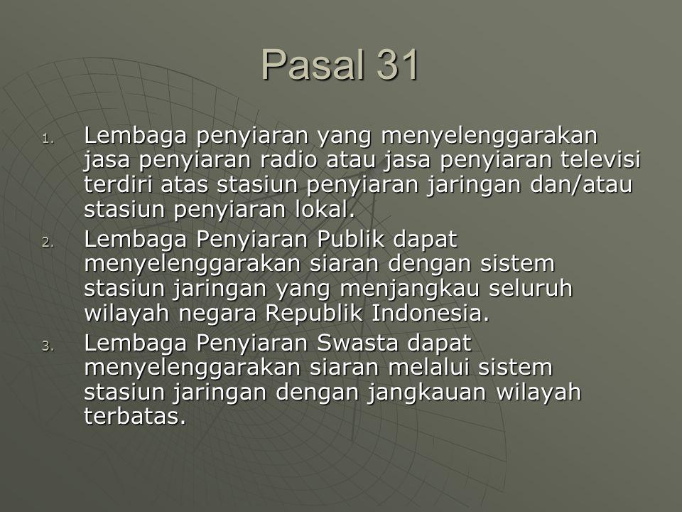 Pasal 31 1.