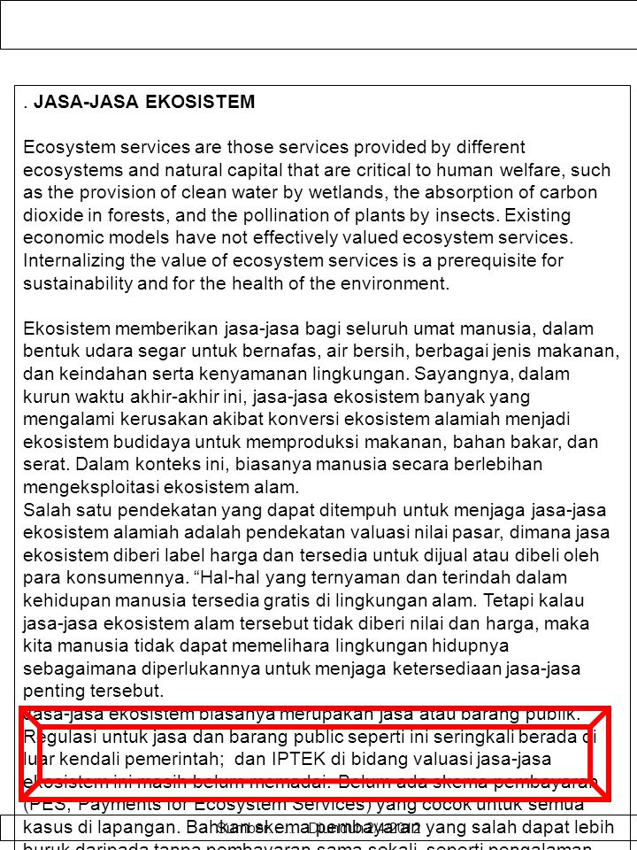 KENYAMANAN LINGKUNGAN WISATA Contingent valuation method (CVM) is an evaluation technique for environmental amenity on the basis of attitude and prefe