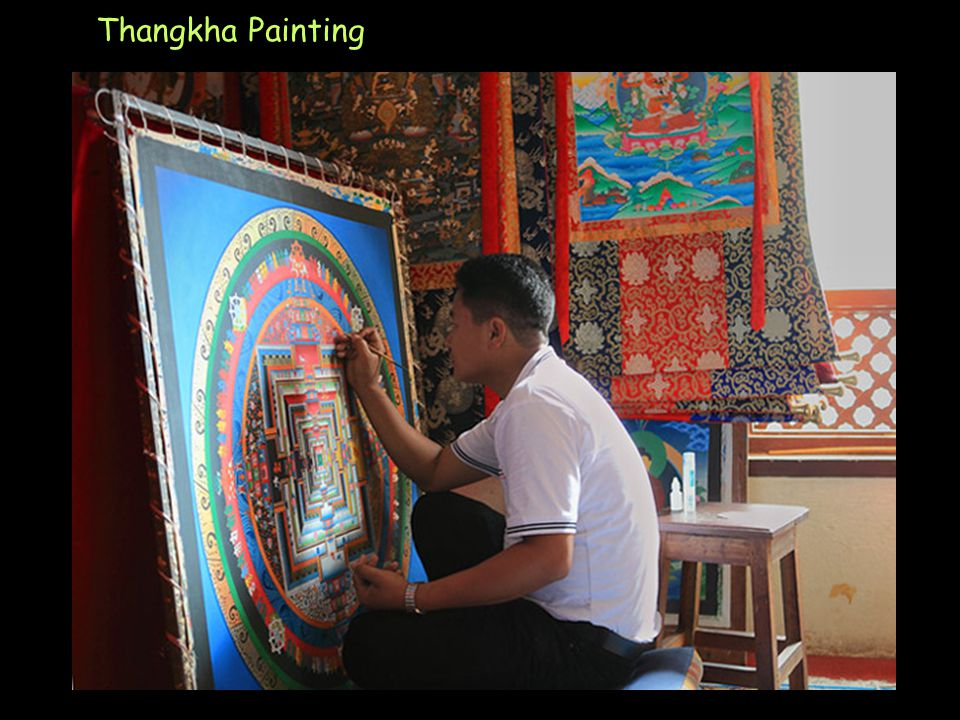 Click to Proceed Thangkha Painting