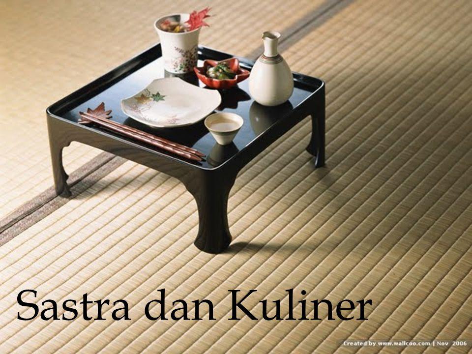 Sastra dan Kuliner