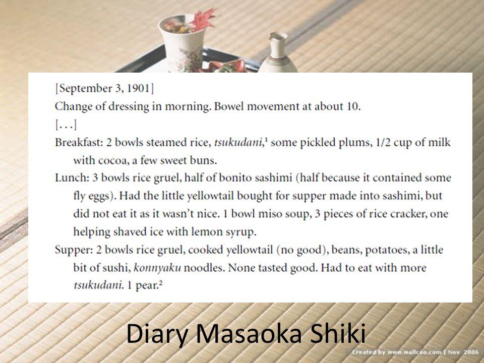 Diary Masaoka Shiki