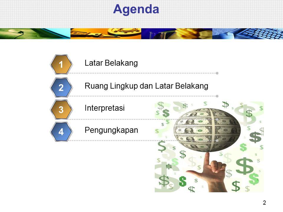 Referensi  PSAK 23 (revisi 2010): Pendapatan  PSAK 25 (revisi 2009): Kebijakan Akuntansi, Perubahan Estimasi Akuntansi, dan Kesalahan  PSAK 30 (revisi 2007): Sewa  PSAK 34 (revisi 2010): Kontrak Konstruksi  PSAK 55 (revisi 2006): Instrumen Keuangan: Pengakuan dan Pengukuran  PSAK 57 (revisi 2009): Provisi, Kewajiban Kontinjensi dan Aset Kontinjensi  PSAK 62: Kontrak Asuransi 3