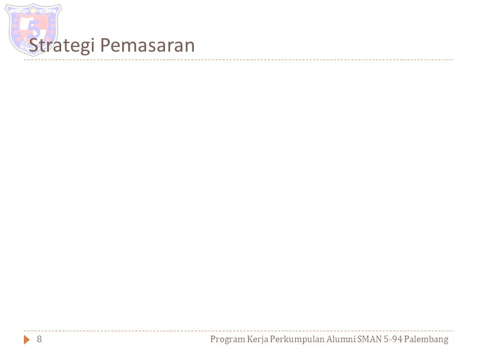 Pasar dan Kompetitor Program Kerja Perkumpulan Alumni SMAN 5-94 Palembang7