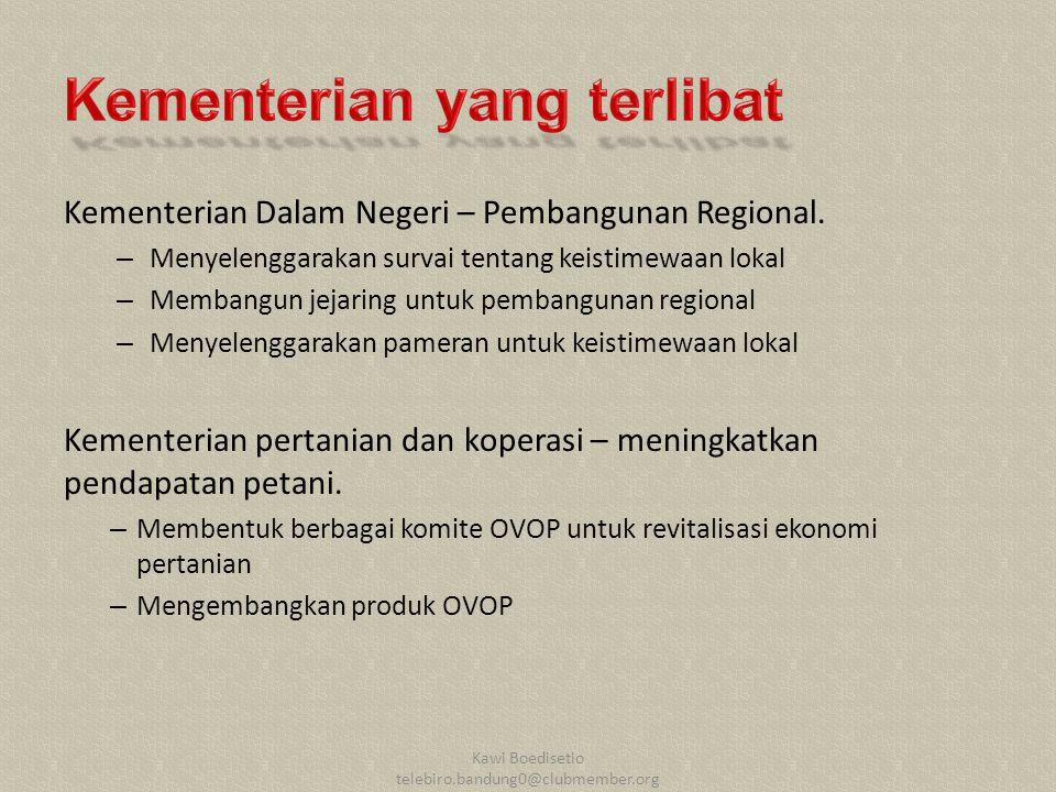 Kementerian Dalam Negeri – Pembangunan Regional.