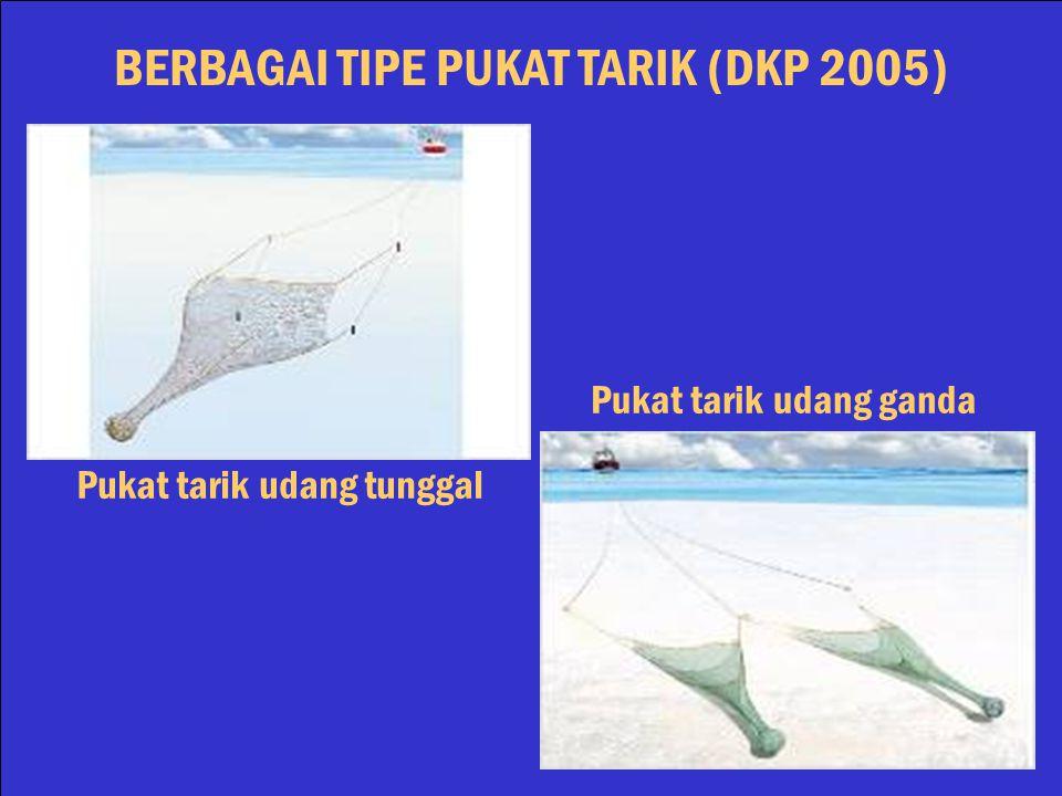BERBAGAI TIPE PUKAT TARIK (DKP 2005) Pukat tarik ikan Pukat tarik berbingkai Otter Trawl