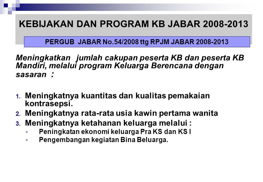 """VISI : """" Tercapainya Masyarakat Jawa Barat Yang Mandiri, Dinamis, Dan Sejahtera"""" MISI : 1. Mewujudkan sumber daya manusia Jawa Barat yang produktif da"""