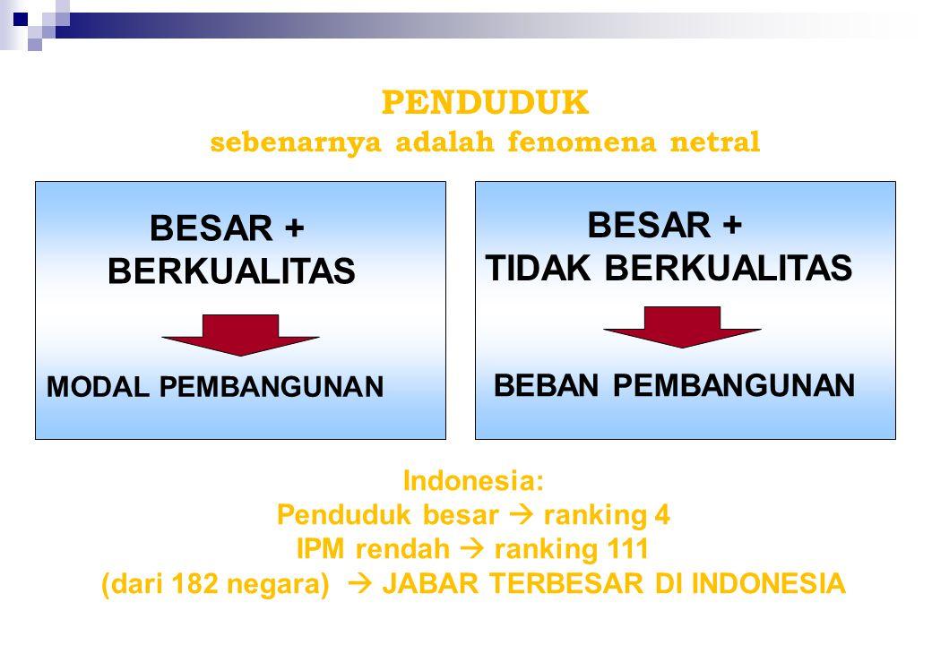 Jalan Surapati No. 122 Bandung http://jabar.bkkbn.go.id KEBIJAKAN DAN STRATEGI PROGRAM KB JAWA BARAT