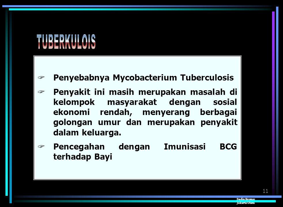 10 Sudin Kesmas Jakarta Utara  Penyebabnya Virus Polio  Gejala awal tidak spesifik, seperti infeksi saluran nafas bagian atas dan demam ringan. Para