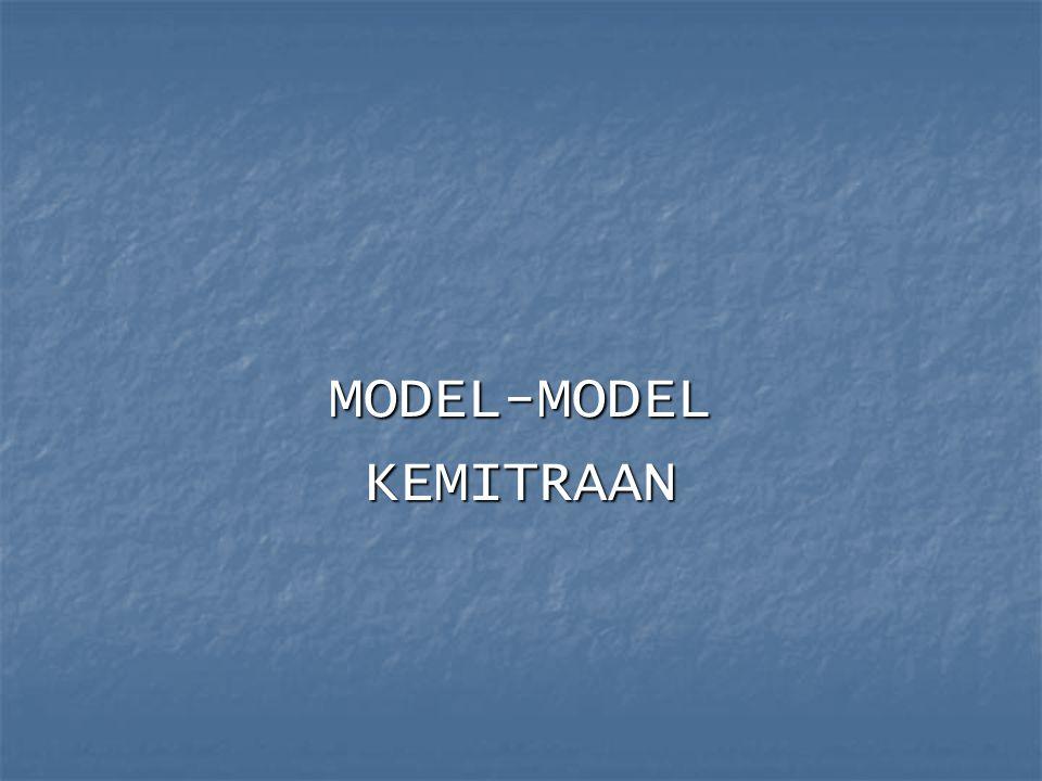 MODEL-MODELKEMITRAAN