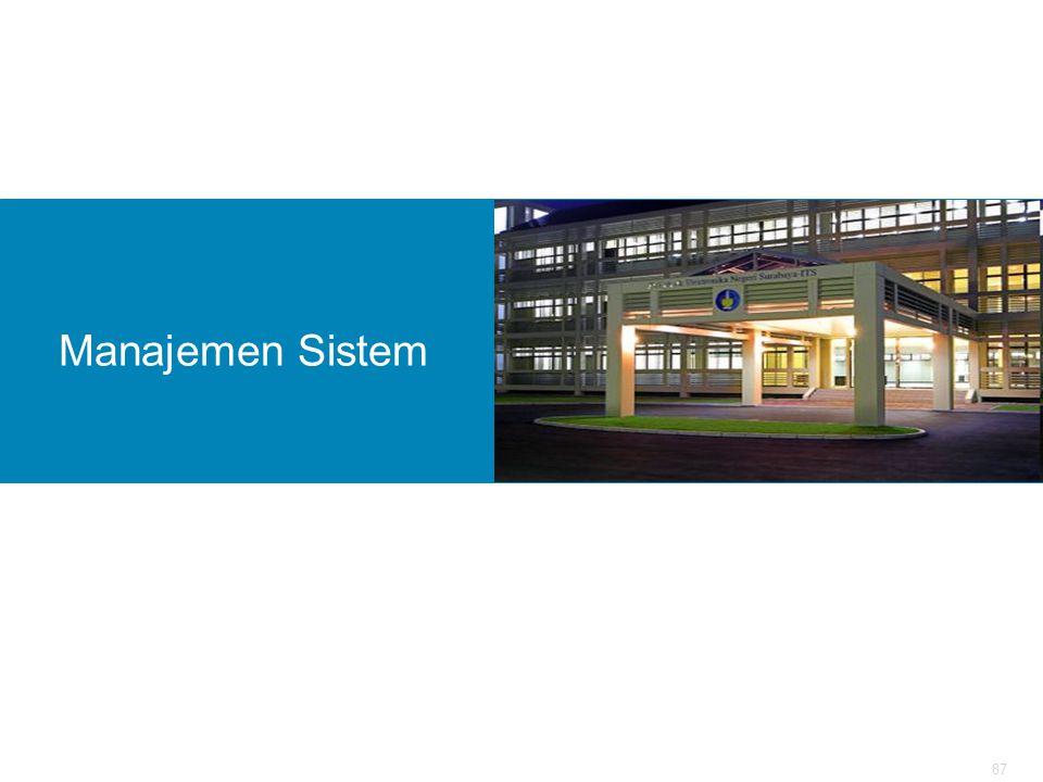 87 Manajemen Sistem