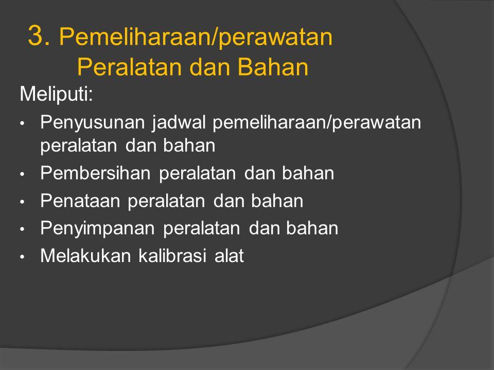 4.Pengevaluasian Sistem Kerja Lab.