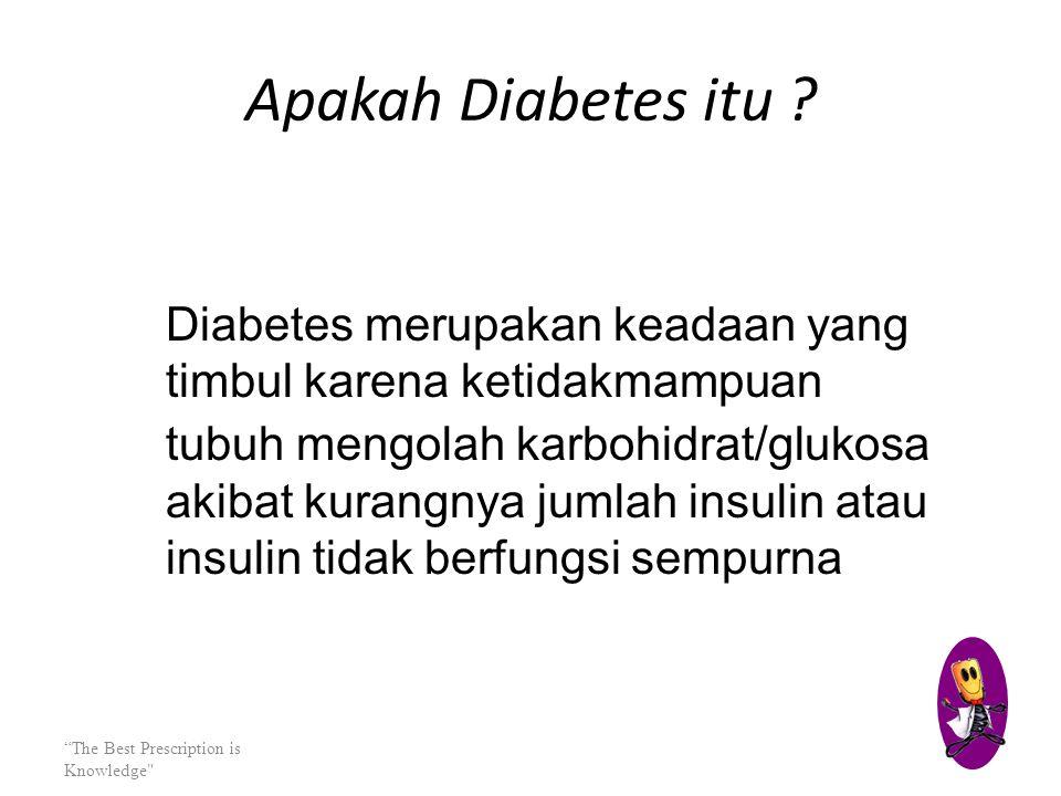 "DIABETES MELLITUS kiki hardiansyah, S.kEP,ns ""The Best Prescription is Knowledge"