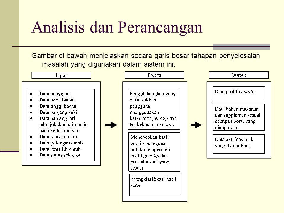 Analisis dan Perancangan Block Diagram Block Diagram adalah struktur yang menggambarkan suatu permasalahan dalam KBS (Knowledge Base System) secara hirarki dan diperlukan untuk mengetahui urutan kerja sistem dalam mencapai keputusan.