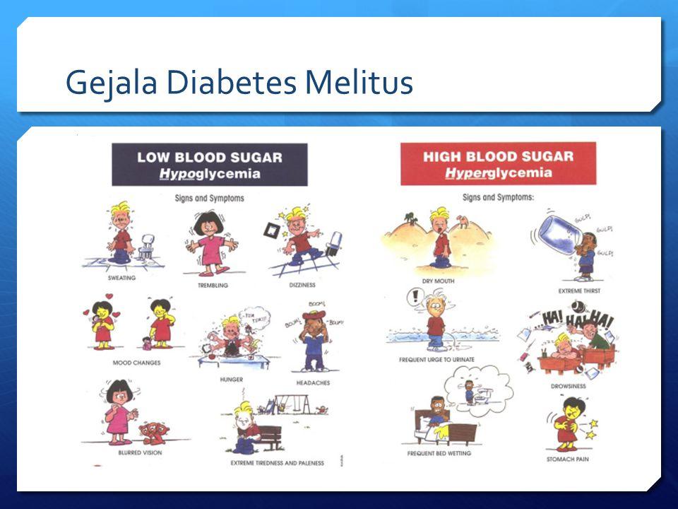Gangguan Metabolisme Karbohidrat pada Diabetes Mellitus Tipe 2  Tahap awal ditandai dengan meningkatnya jumlah insulin di dalam darah  diatasi dengan mengkonsumsi obat anti-diabetes  berfungsi meningkatkan sensitivitas terhadap insulin  Semakin parah diabetes tipe 2 ini, semakin sulit juga sekresi insulin sehingga diperlukan terapi lebih lanjut