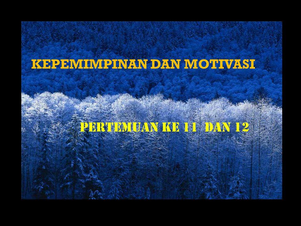 PENGERTIAN MOTIVASI Motivasi berasal dari Bahasa Latin: Movere : bergerak DEFINISI MOTIVASI: 1.Dorongan yang bersifat internal atau eksternal pada diri individu yang menimbulkan antusiasme dan ketekunan untuk mengejar tujuan spesifik (Daft, 1999) 2.Sebuah proses yang dimulai dari adanya kekurangan baik secara fisiologis maupun psikologis yang memunculkan perilaku atau dorongan yang diarahkan untuk mencapai sebuah tujuan spesifik atau insentif.