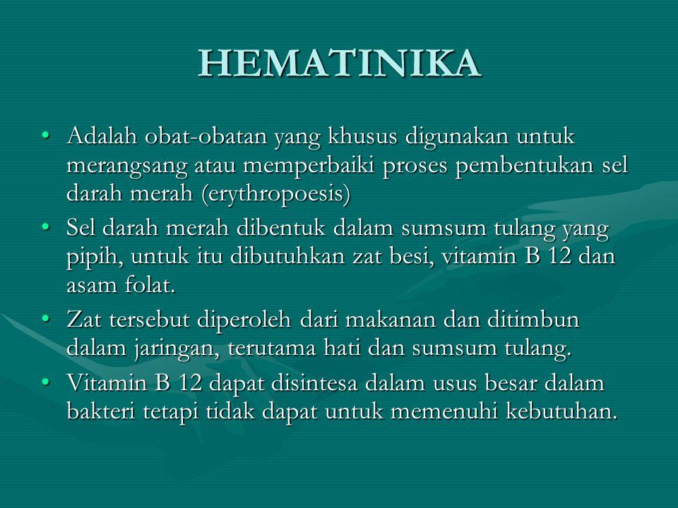 Anemia adalah keadaan dimana kadar Hb dan atau eritrosit berkurang.Anemia adalah keadaan dimana kadar Hb dan atau eritrosit berkurang.