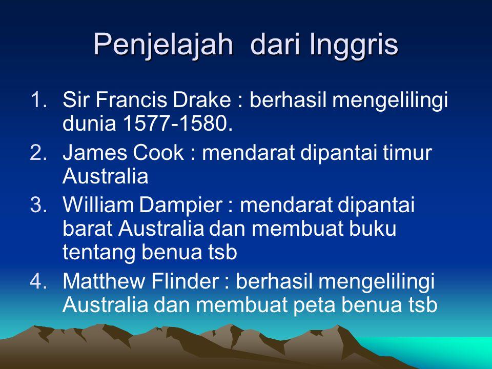 4. Fransiskus Xaverius : th 1550 berhasil menyiarkan agama nasrani sampai ke India, Maluku, Jepang dan Cina 5. Cabral : berhasil mancapai Brasilia sej