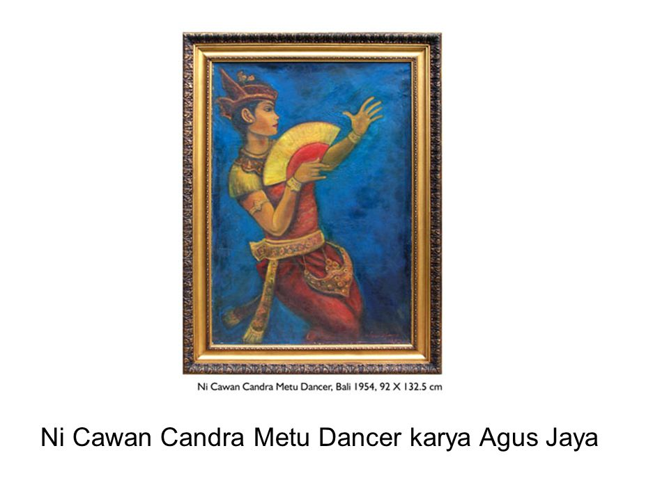 Ni Cawan Candra Metu Dancer karya Agus Jaya