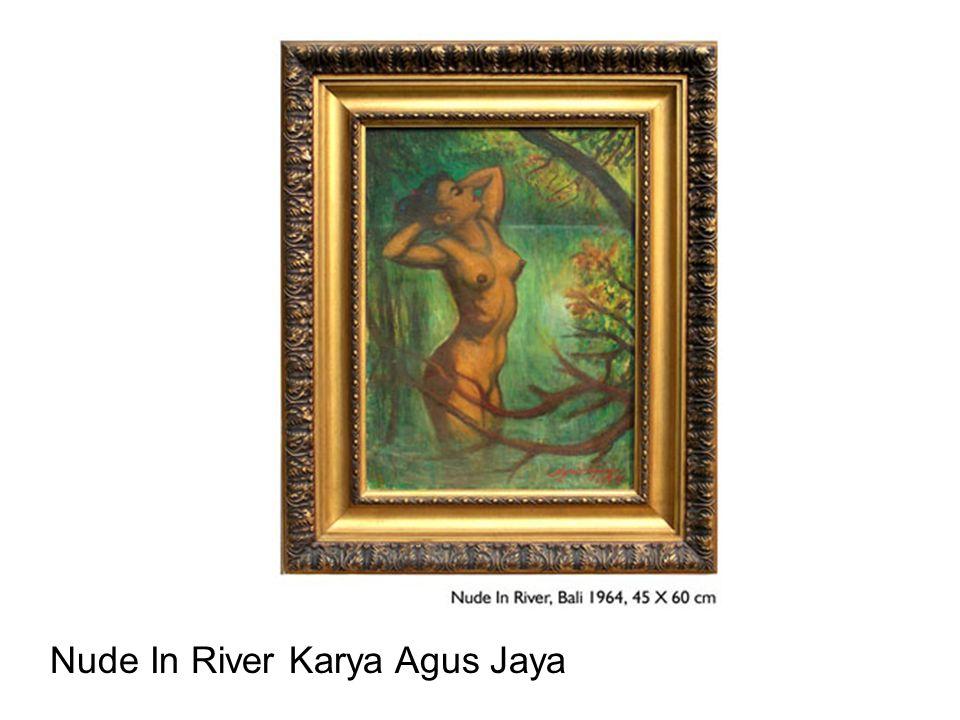 Nude In River Karya Agus Jaya