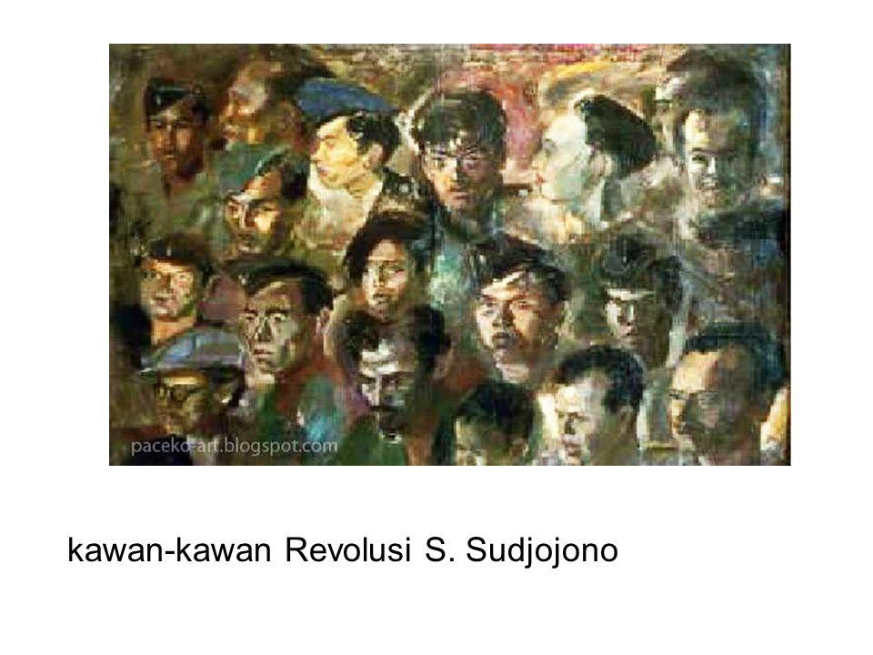 kawan-kawan Revolusi S. Sudjojono