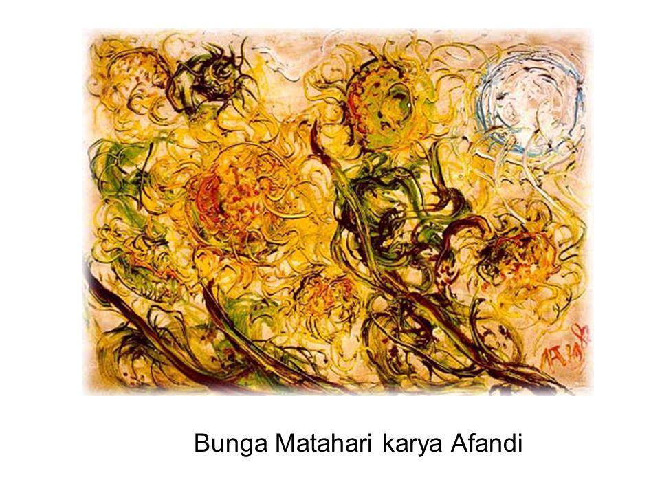 Bunga Matahari karya Afandi