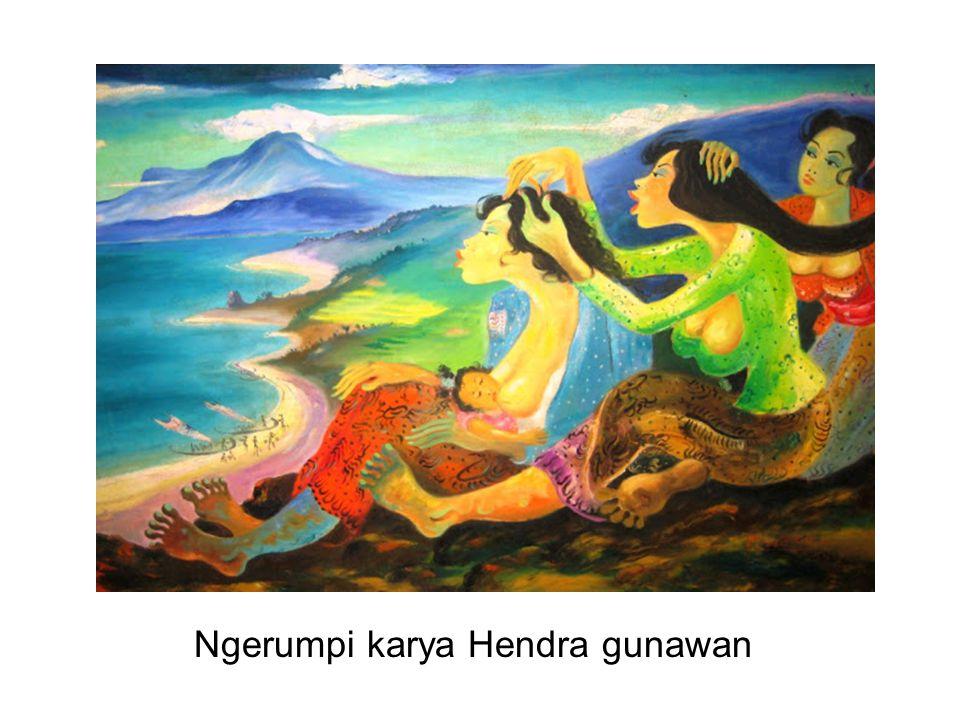 Ngerumpi karya Hendra gunawan