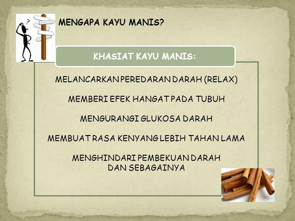 MASALAH SURABAYA YANG SEMAKIN PADAT & PENAT BANYAKNYA AKTIVITAS BAGAIMANA MEMPOPULERKAN REMPAH INDONESIA KHUSUSYA KAYU MANIS SOLUSI MECIPTAKAN TEMPAT
