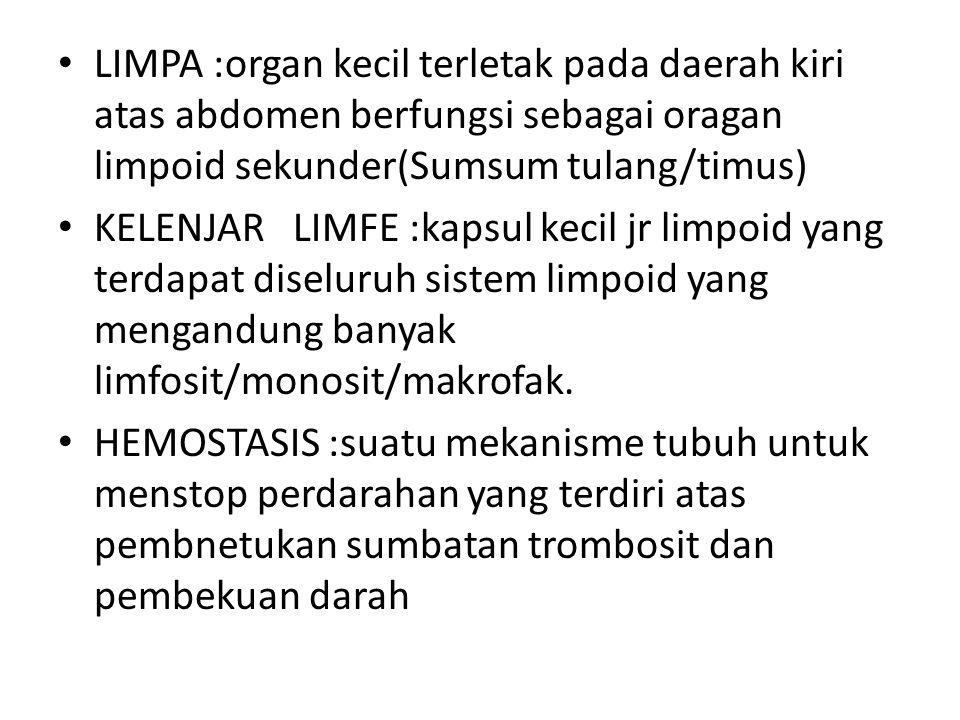 DIAGNOSTIK:analisa darah-  anemia dan parasit.