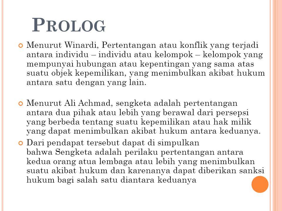 Dasar Hukum Keberadaan Lembaga Mediasi Penyelesaian sengketa yang melibatkan lembaga mediasi Mahkamah Agung Republik Indonesia telah menerbitkan Peraturan Mahkamah Agung Republik Indonesia (Perma) Nomor 2 Tahun 2003 tentang Prosedur Mediasi di Pengadilan tanggal 11 September 2003.