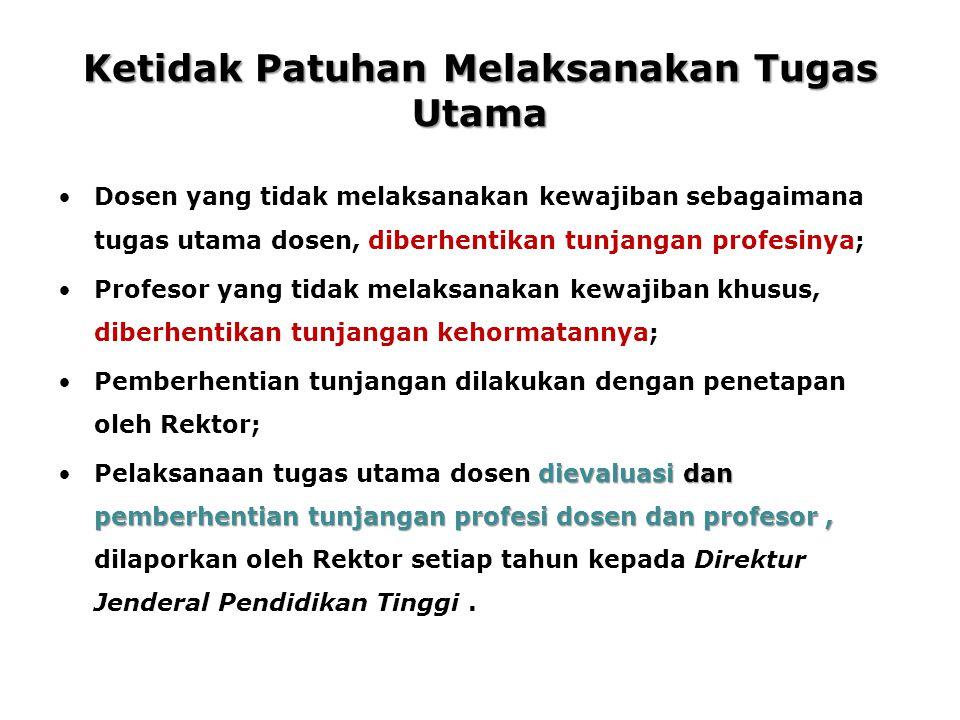 Catatan Penting: Tugas Dosen Di bidang Penelitian (PL) dan Pengabdian Masyarakat (PG) banyak menemui kendala pendanaan.