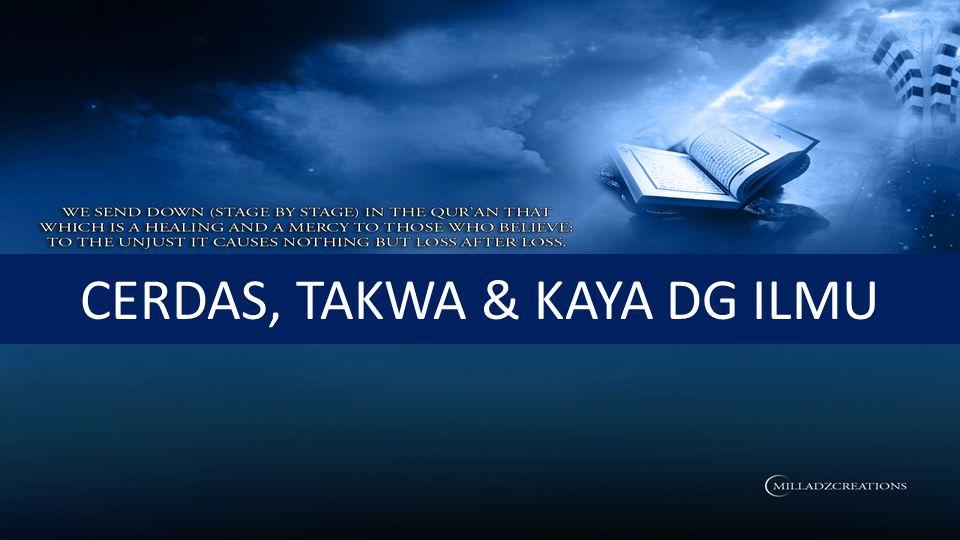 ….Allah akan meninggikan orang-orang yang beriman di antaramu dan orang- orang yang diberi ilmu pengetahuan beberapa derajat.