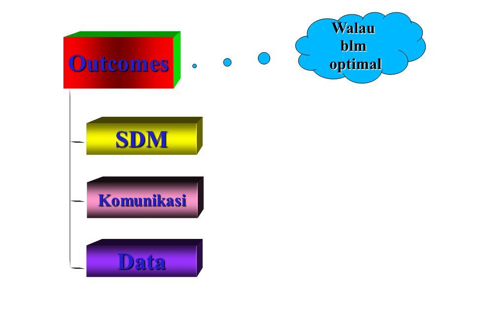 Outcomes SDM Komunikasi Data Walaublmoptimal